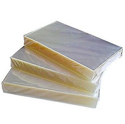 """50 clear plastic sheets Soap Wrapping 7 1//2/"""" w by 10/"""" l."""