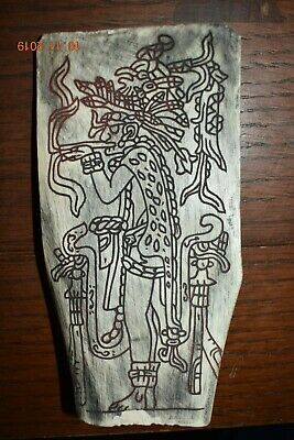 Sale! Pre Columbian Mayan Dog Bone, Figure, 6In Prov