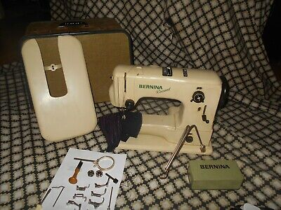 Bernina Record 530-2 Knee Operated Electric Sewing Machine - Serviced + 11 Feet.