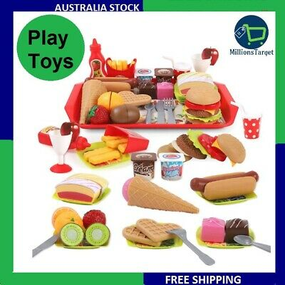 REMOKING Children Pretend Role Play Toys, Educational Food Toys  BRAND NEW