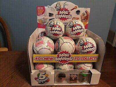 Zuru 5 Surprise Mini Brands (You will receive (1)  Random Mini Brands! Ball) New