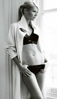 Gwyneth Paltrow - Looking Out A Window Wearing Panties And A Bra !!!
