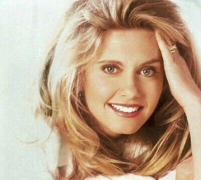 Olivia Newton John - Awesome Headshot !!!