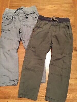 Next Lined Easy Pull On Trousers X2 Age 1 1/2-2 Years