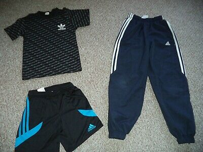Adidas boy's sport clothes bundle size 7-8 years (joggers, shorts and top)