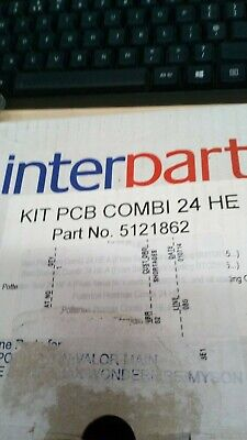 genuine interpart spare kit pcb combi 24he part number 5121862     (158a)