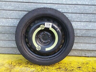 """AUDI A4 B8 2008-PRESENT DAY 19/"""" SPACE SAVER STEEL SPARE WHEEL AND TOOL KIT"""