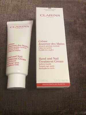 Clarins Hand and Nail Treatment Cream 100ml -  New And Sealed & boxed