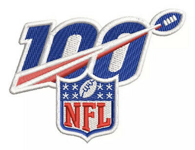 Nfl 100Th Anniversary Jersey Style Patch 2019 -2020 Season