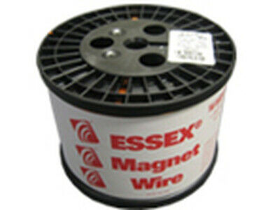 13 AWG Essex Magnet Wire Enameled Heavy Build 200 Degree Celsius 10 LB Spool