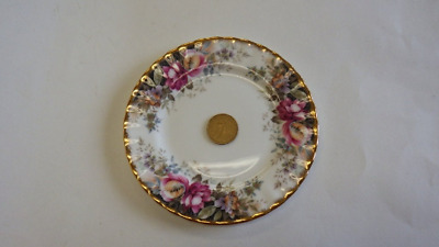 """Pretty Vintage Royal Albert Autumn Roses 6.5"""" Side Bread & Butter Plate 7 avail"""