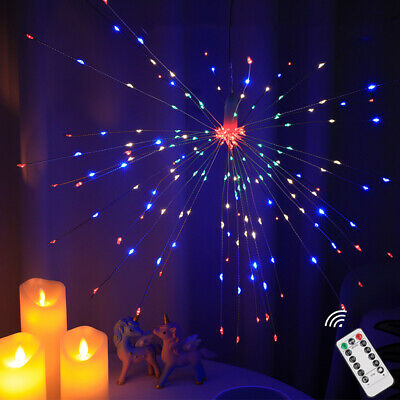 Galaxy 3D Firework Retro Bulb E27 LED Light Colourful Decorative Party Lamp H2