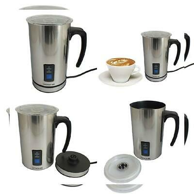 Voche® Cordless Stainless Steel Electric Milk Frother and Warmer Coffee...