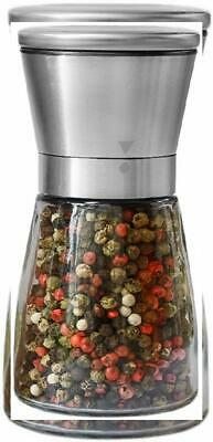 Pepper Grinder or Salt Shaker for Professional Chef - Best Spice Mill with...