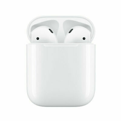 New Genuine Apple AirPods 2nd Generation with Wired Charging Case