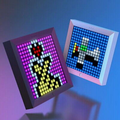 DIY Pixel Art Frame PIXOO Full RGB LED APP Control Bluetooth 5.0 For Android iOS