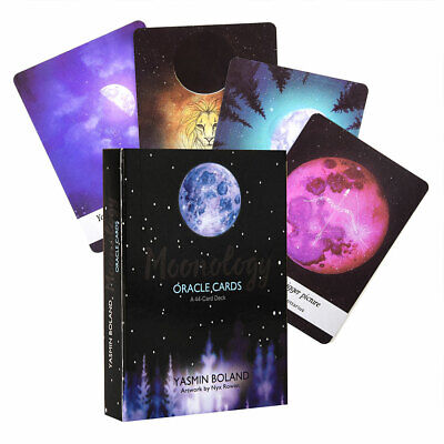 Moonology Oracle Cards: A 44-Card Deck and Guidebook by Yasmin Boland Magic