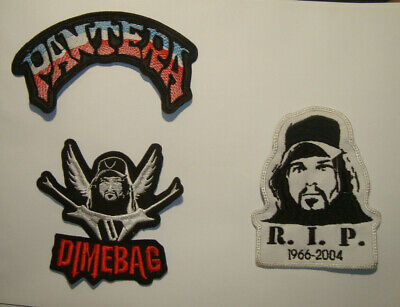 DIMEBAG DARREL - 1966 - 2004 R.I.P. Embroidered PATCH Pantera Phil anselmo