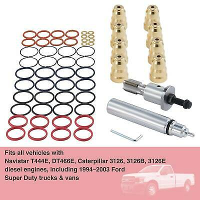 F4TZ9F538A Injector Sleeve Cup Removal Installation Tool Kit For Ford 94-03 7.3L