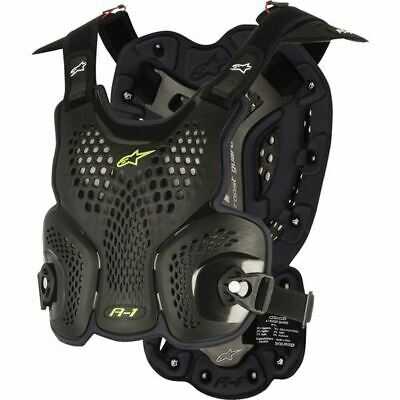 Alpinestars A1 Roost Deflector - Blk/Anthracite, All Sizes