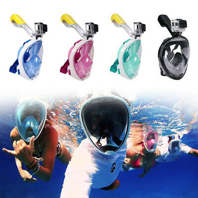 Seaview 180° Full Face Snorkel Mask Diving Snorkeling Set Anti Fog Dry Swimm BF