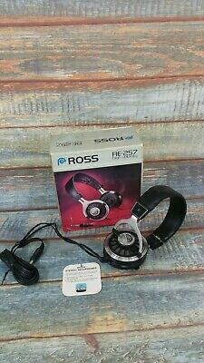 Vintage ROSS RE-257 Professional Series Stereophones Headphone VGC Made in Japan