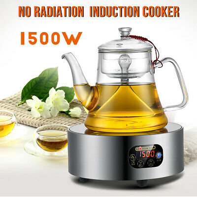 Portable Electric Hot Plate Teapot Cooker Countertop Camping Cooktop Stove 1500W