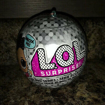 LOL Surprise Doll Bling Series Christmas Ornament Ball- New sealed