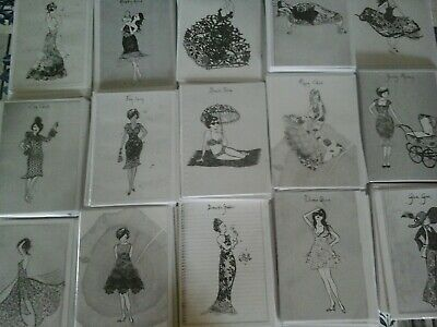 50 Black And White Cards, Wholesale Joblot Greeting Cards
