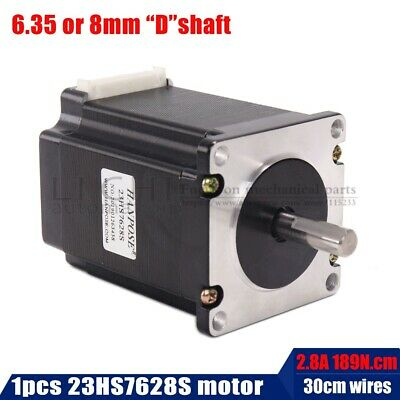 2 phase, 4-Leads 20Kgcm 76mm CNC Nema 23 Stepper Motor , 3D Printer 23hs7628