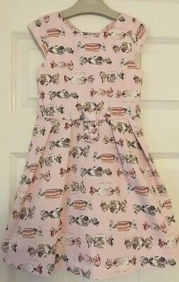Beautiful Girls Next Size 6 Years Pink Bow Party Dress VGC!!!!