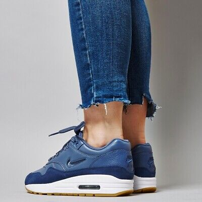 NIKE AIR MAX 1 Premium SC Jewel diffused Blue uk 8 aa0512