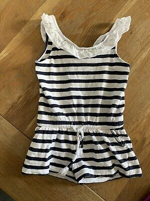 Seed Heritage Girls Jumpsuit Playsuit Size 3 Summer