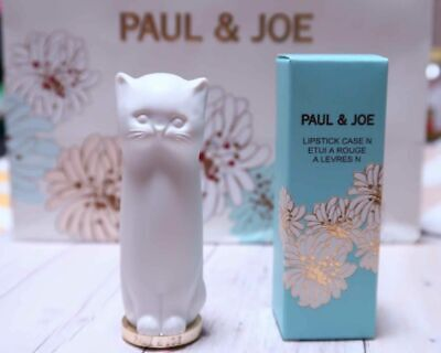 Paul & Joe Lipstick Case Limited Edition Cat - Case Only Sold Out Boxed