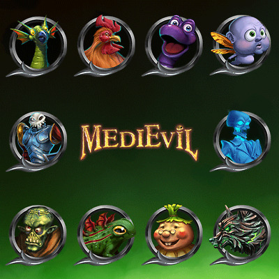MediEvil PS4 DLC - 10 Avatars Pack Only NOT FULL GAME
