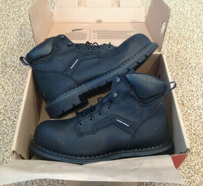 NEW Red Wing Shoes Dyna Force BLACK Steel Toe Work Boot ~ $180 Store Retail