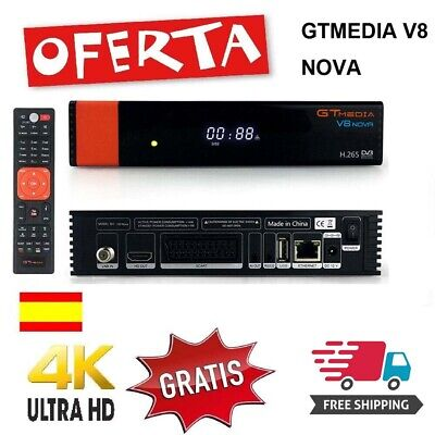 Gtmedia V8 NOVA Set Top box DVB-S2 Built-in WIFI Support HD.265 receiver