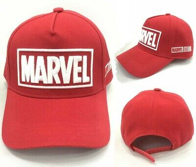 MARVEL Comics Hat Baseball Cap Mens Boys Kids 100% Cotton Movie PS4 Xbox Wii OZ
