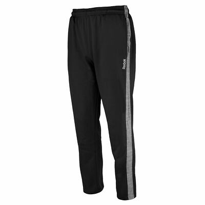 Reebok Mens Joggers Fleece Sweatpants Athletic Gym Muscle Active Pants NEW