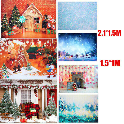 Christmas Bauble Photography Props Background Studio Backdrop Snowflakes Shoot