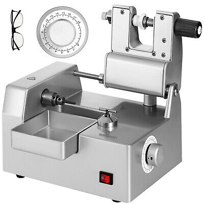 Optical Eyeglass Lens Cutting Milling Machine Adjustable High Speed Cutter