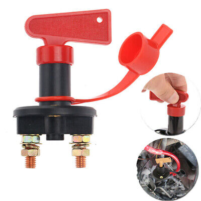 12V Battery Isolator Disconnect Cut Off Power Kill Switch Fit Car Truck Boat ATV