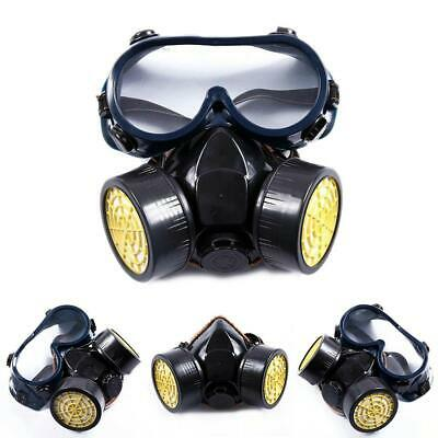 Anti Gas Mask Survival Safety Respiratory Emergency Filter Face Protection