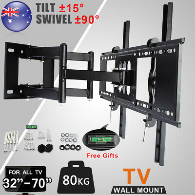 For  TILT TV Wall Bracket Mount For 32 40 42 50 55 60 65 70 Inch Plasma LED LCD