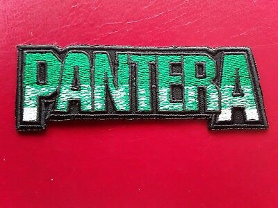 Embroidered Patch Iron Sew Logo OASIS music rock band heavy thrash metal