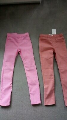 H&M Girls Trousers 8-9 Years new one with tags one with out tags