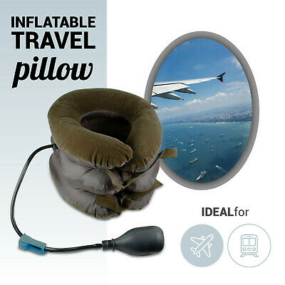 Scientifically Proven Neck Support Pillow Perfect Neck Pillow for Travel Flights