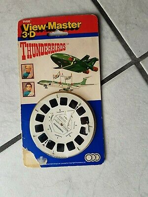 "View Master Scheiben-Set  ""Thunderbirds  "" alt"