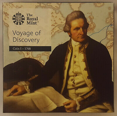 2018 £2 (Two Pounds) Captain Cook's Voyage of Discovery Silver Proof Coin