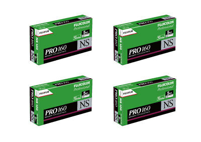 180 rolls (36 packs) of Fuji Fujifilm 160NS color negative 120 NEW! FRESH DATE!